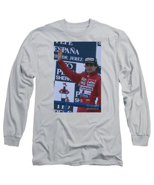 Ayrton Senna. 1989 Spanish Grand Prix Winner Long Sleeve T-Shirt