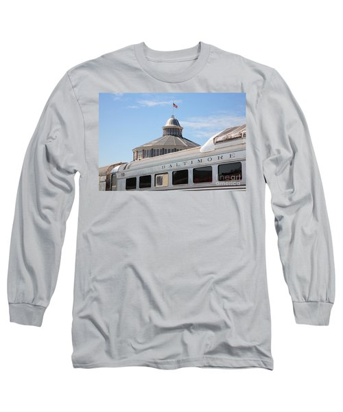 B And O Railroad Museum In Baltimore Maryland Long Sleeve T-Shirt