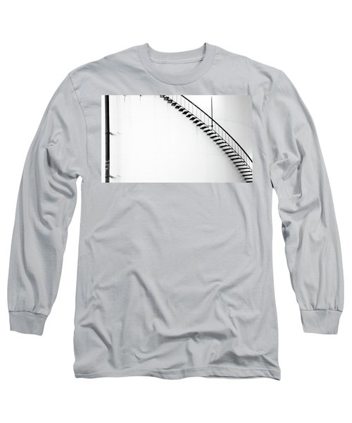 B And W Stairs Long Sleeve T-Shirt