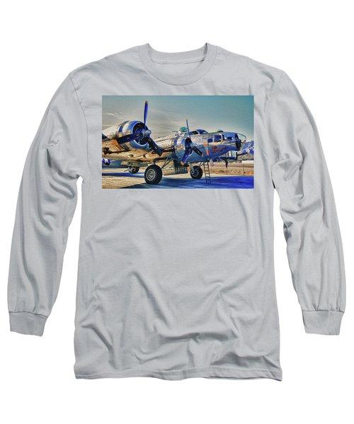 B17 Flying Fortress Sentimental Journey Long Sleeve T-Shirt