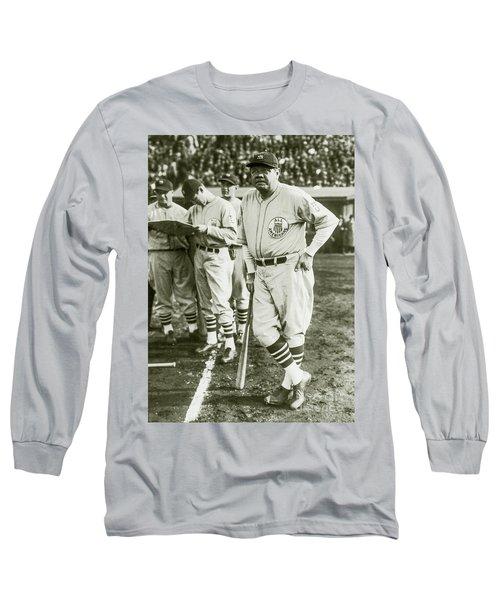 Babe Ruth All Stars Long Sleeve T-Shirt by Jon Neidert