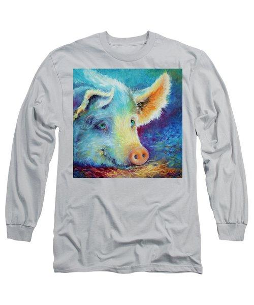 Baby Blues Piggy Long Sleeve T-Shirt