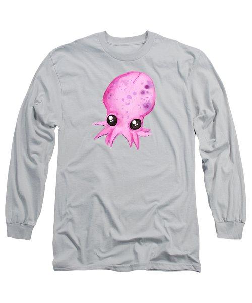 Baby Octopus Long Sleeve T-Shirt