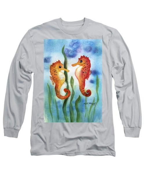 Baby Seahorses Long Sleeve T-Shirt