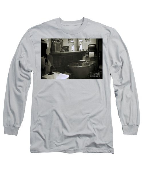Long Sleeve T-Shirt featuring the photograph Back When by Lori Mellen-Pagliaro
