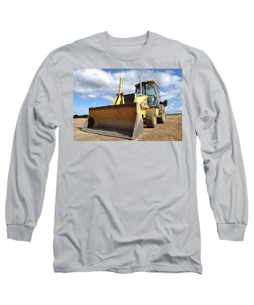 Backhoe Tractor Construction Long Sleeve T-Shirt