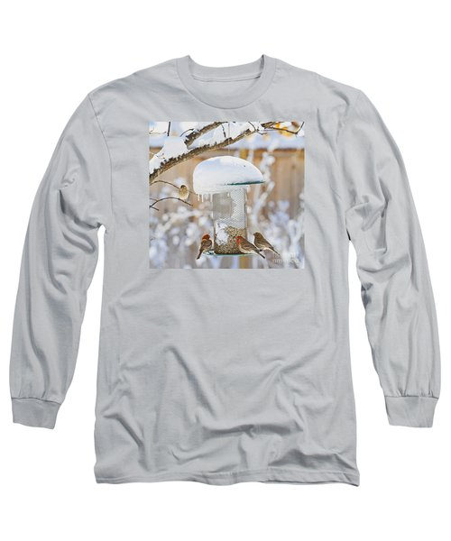 Backyard Birds Long Sleeve T-Shirt