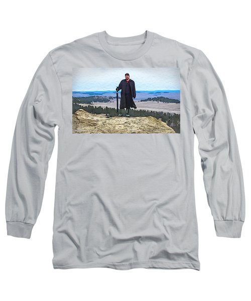 Bad Bear Standing Long Sleeve T-Shirt