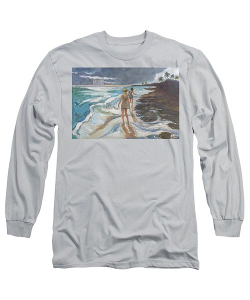 Bahia Honda Beach Long Sleeve T-Shirt