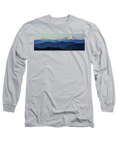 Baker From Pilchuck Long Sleeve T-Shirt