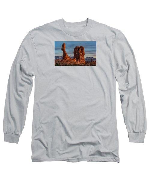 Balanced Rock Sunset Long Sleeve T-Shirt