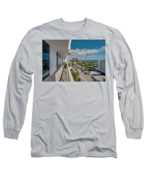 Balcony Life Long Sleeve T-Shirt