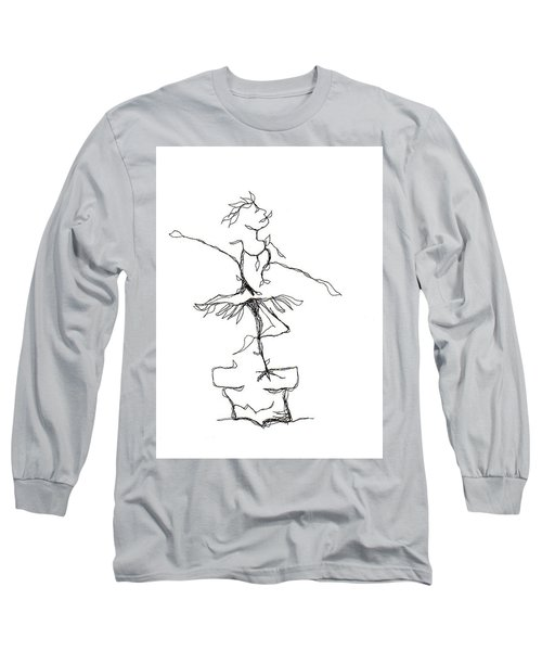 Ballerina- Cracked Pot Long Sleeve T-Shirt