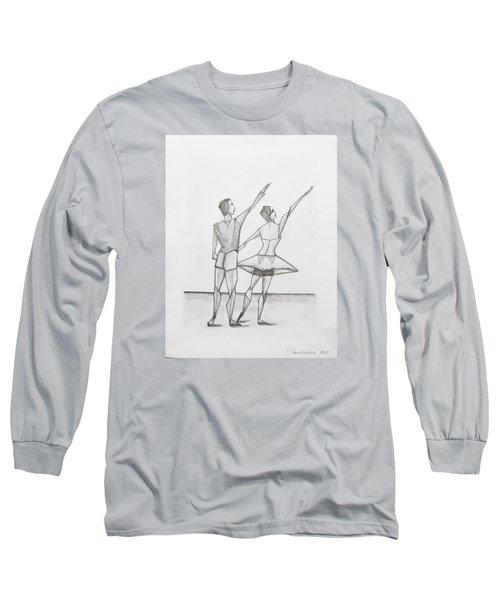 Ballet Long Sleeve T-Shirt by Tamara Savchenko
