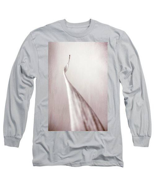 Bamboo Leaf Long Sleeve T-Shirt