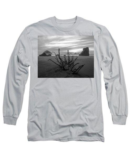 Bandon Beach Tree Long Sleeve T-Shirt