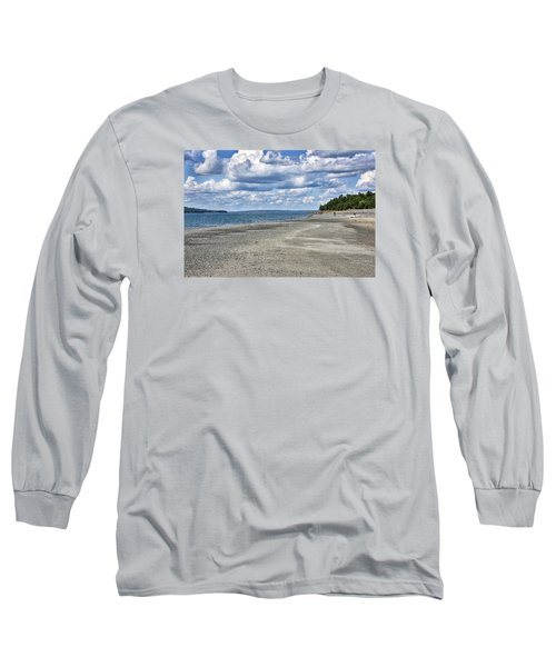 Bar Harbor - Land Bridge To Bar Island - Maine Long Sleeve T-Shirt