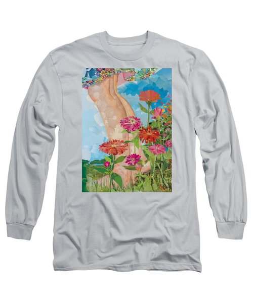 Barefoot Long Sleeve T-Shirt