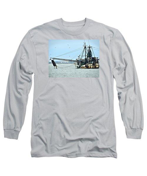 Barely Makin' Way Long Sleeve T-Shirt by Laura Ragland