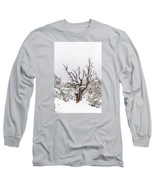 Long Sleeve T-Shirt featuring the photograph Bark And White by Laura Pratt