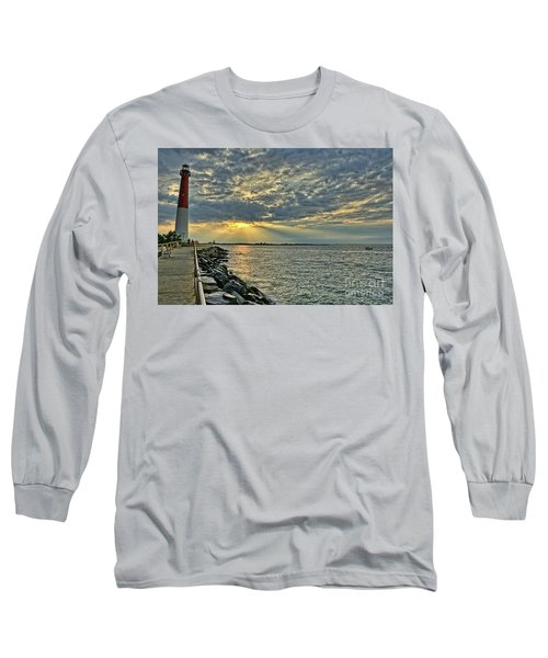 Barneget Lighthouse  New Jersey Long Sleeve T-Shirt