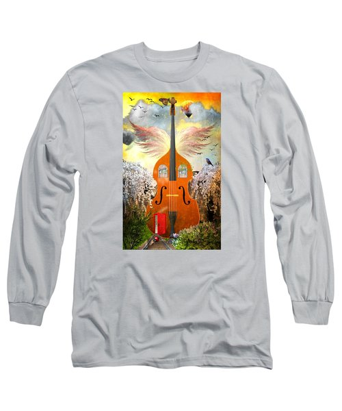 Basic Housing Long Sleeve T-Shirt by Ally  White