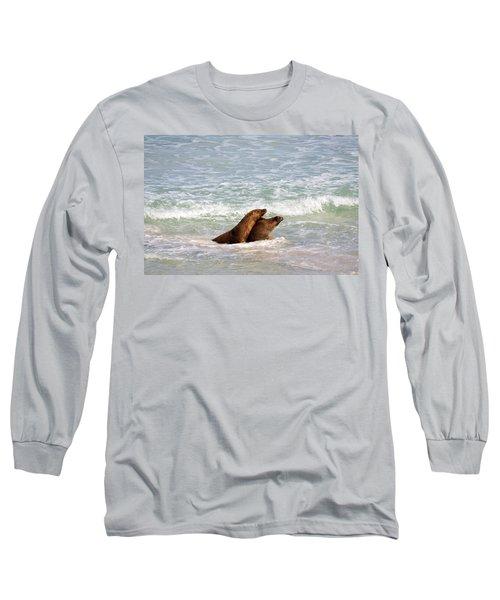 Battle For The Beach Long Sleeve T-Shirt