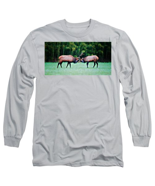 Battling Bulls Long Sleeve T-Shirt