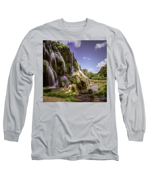Baume Les Messieurs, France. Long Sleeve T-Shirt