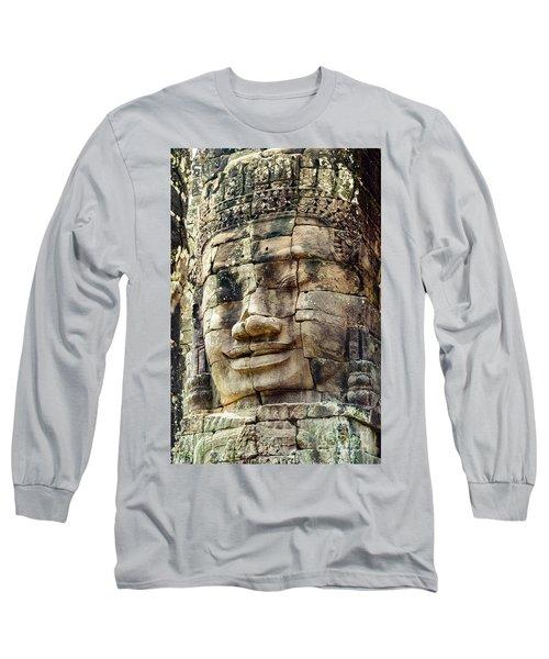 Bayon 2 Long Sleeve T-Shirt by Werner Padarin