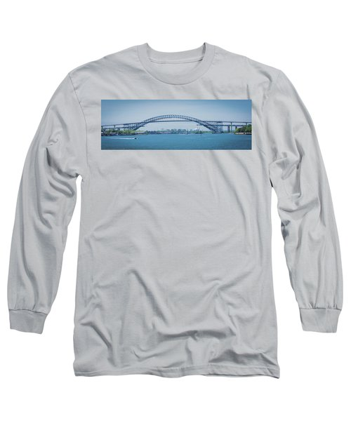 Bayonne Bridge Raising Long Sleeve T-Shirt
