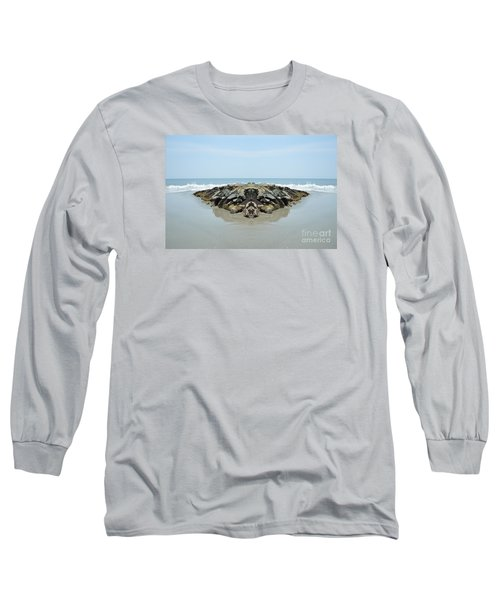 Beach Barrier Long Sleeve T-Shirt