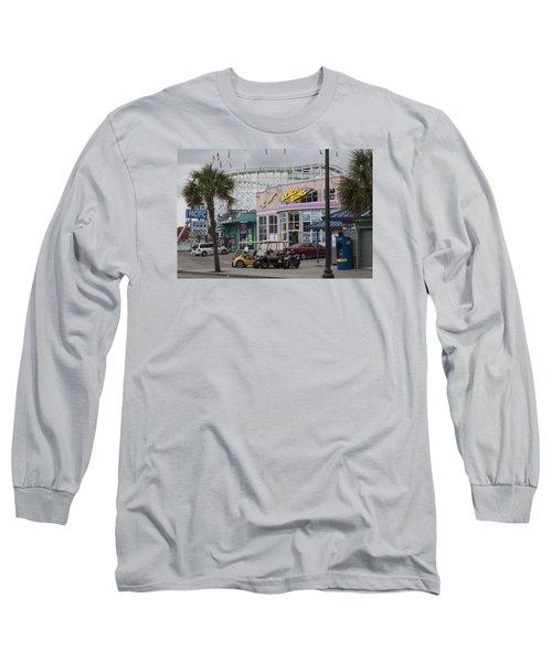 Beach Bums - Myrtle Beach South Carolina Long Sleeve T-Shirt by Suzanne Gaff