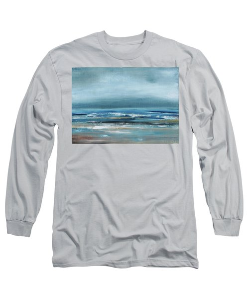 Beach Exercise Long Sleeve T-Shirt