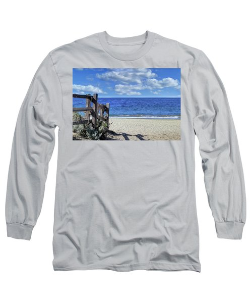 Beach Fence Long Sleeve T-Shirt