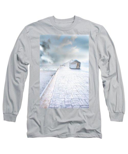 Beach Pier Long Sleeve T-Shirt