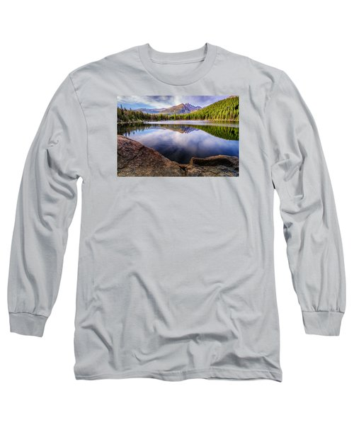 Bear Lake 3 Long Sleeve T-Shirt by Mary Angelini