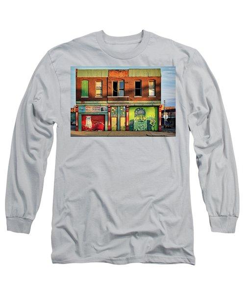 Beardy Mcgreen Long Sleeve T-Shirt