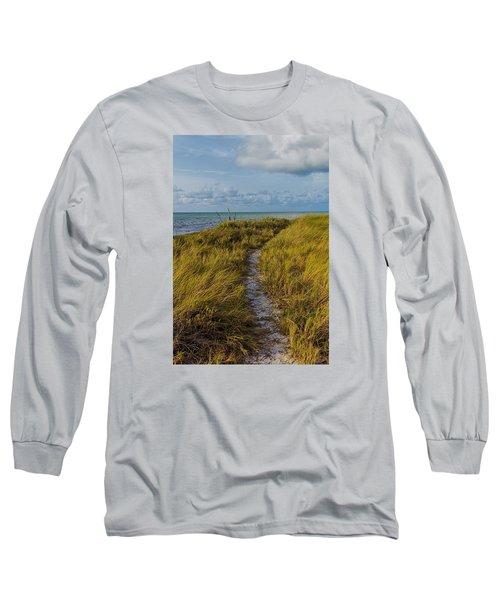 Beaten Path Long Sleeve T-Shirt by Swank Photography