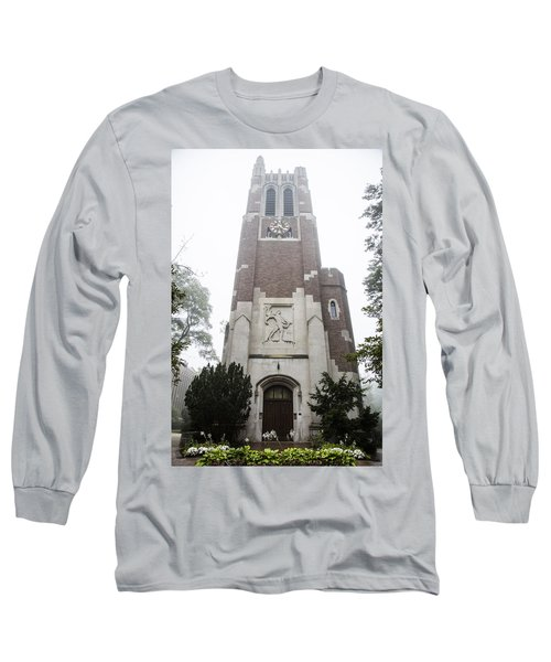 Beaumont Tower In The Fog  Long Sleeve T-Shirt