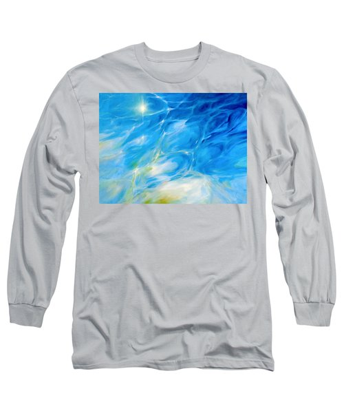 Becoming Crystal Clear Long Sleeve T-Shirt by Dina Dargo