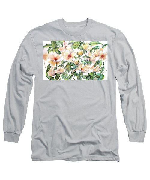 Bee Happy Long Sleeve T-Shirt by Debbie Lewis
