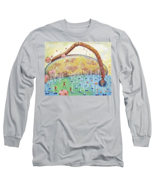 Bee's Eye And Antenna Long Sleeve T-Shirt
