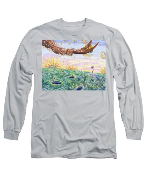 Bee's Foot Long Sleeve T-Shirt