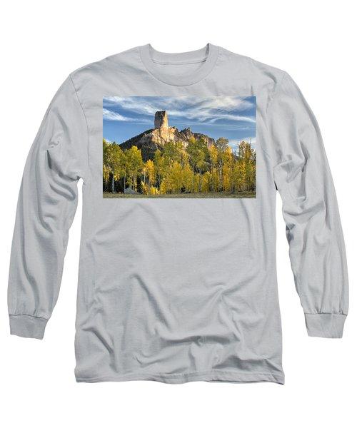 Before Sunset At Chimney Rock Long Sleeve T-Shirt