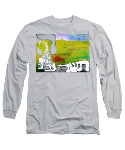 Behold The Hey Ab12 Long Sleeve T-Shirt