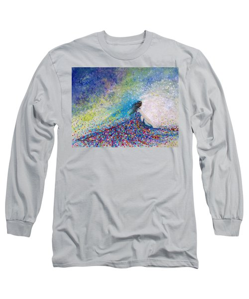 Being A Woman - #5 In A Daydream Long Sleeve T-Shirt by Kume Bryant