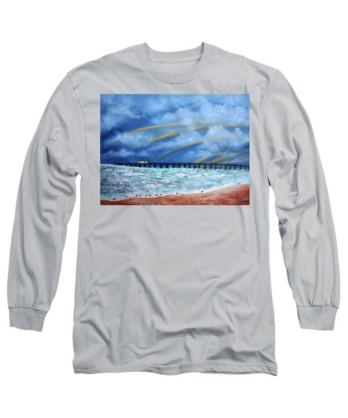 Belmar's Fishing Pier Long Sleeve T-Shirt