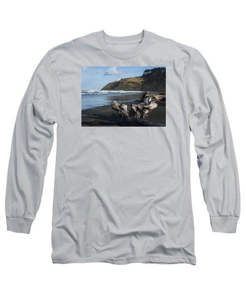 Benson Beach And North Head Long Sleeve T-Shirt