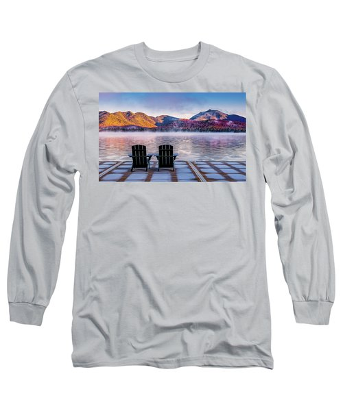 Best Seats In The Adirondacks Long Sleeve T-Shirt